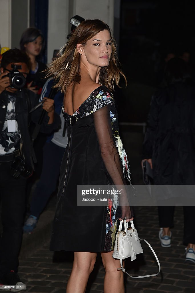 Celebrity Sighting At Paris Fashion Week, Womenswear SS 2015 : September 28th