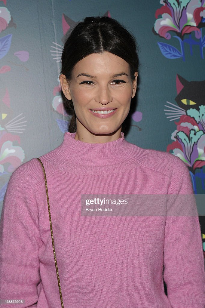 Hanneli Mustaparta attends Miu Miu Women's Tales 7th Edition - 'Spark & Light' Screening - Arrivals at Diamond Horseshoe on February 11, 2014 in New York City.