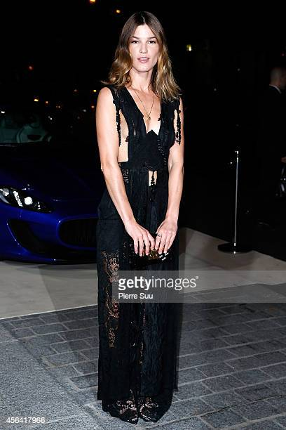 Hanneli Mustaparta attends the CR Fashion Book Issue N°5 launch party as part of the Paris Fashion Week Womenswear Spring/Summer 2015 on September 30...