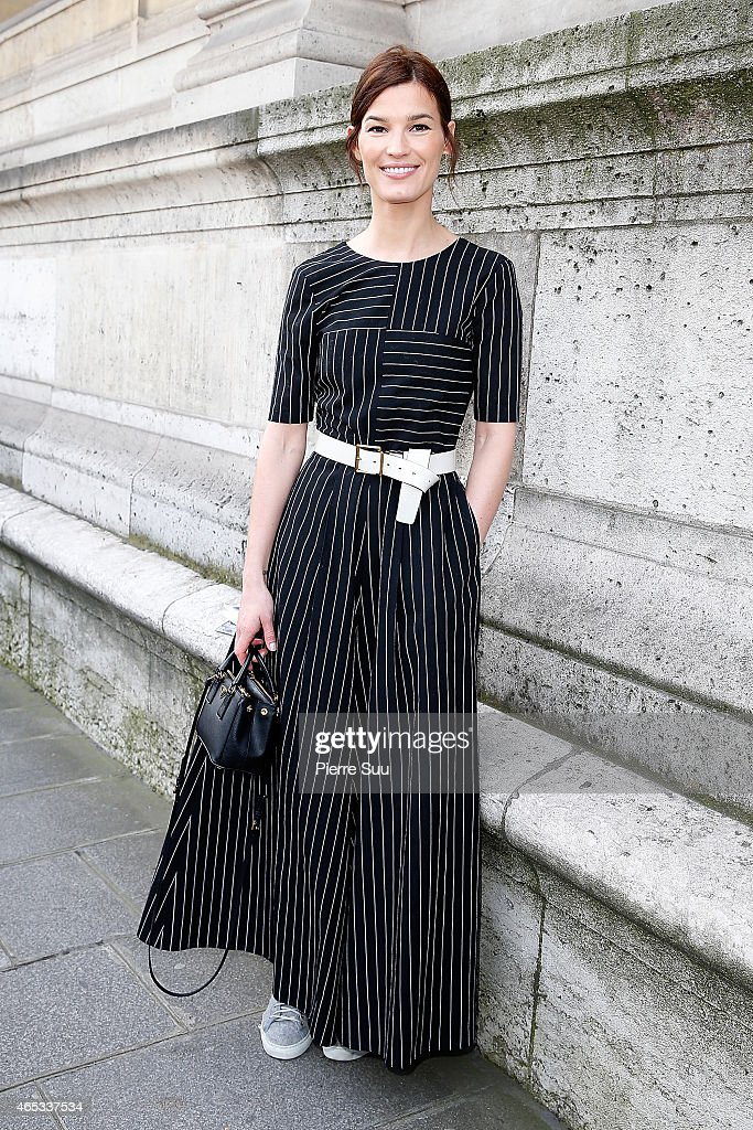 Hanneli Mustarparta attends the Chalayan show as part of the Paris Fashion Week Womenswear Fall/Winter 2015/2016 on March 6, 2015 in Paris, France.