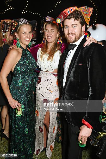 Hanneli Rupert Caroline Rupert and Hickman Bacon attend The Animal Ball 2016 presented by Elephant Family at Victoria House on November 22 2016 in...