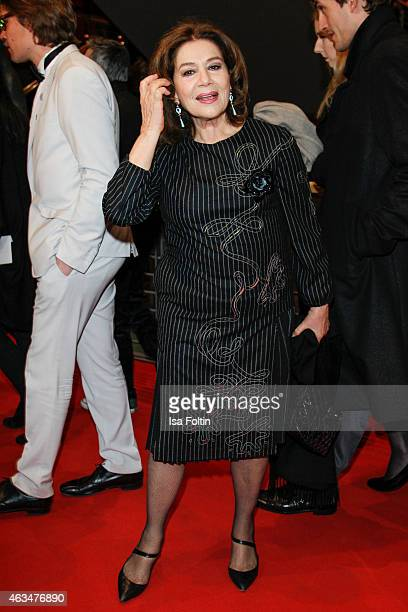 Hannelore Elsner attends the Closing Ceremony of the 65th Berlinale International Film Festival on February 14 2015 in Berlin Germany