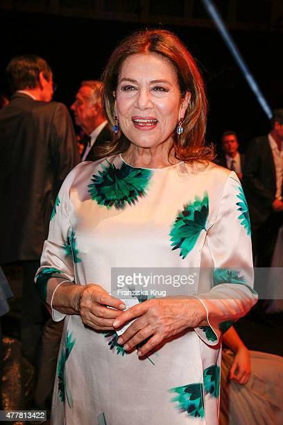 Hannelore Elsner attends the German Film Award 2015 Lola show at Messe Berlin on June 19 2015 in Berlin Germany