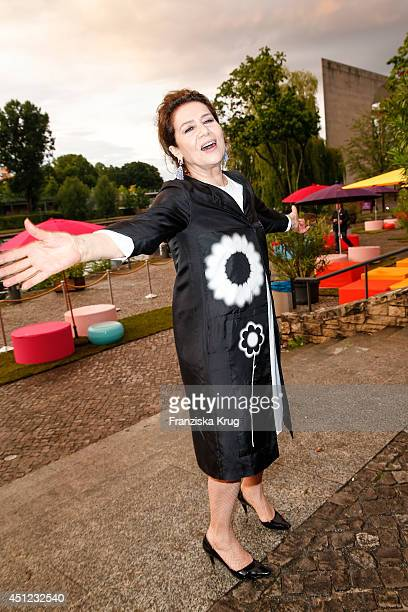 Hannelore Elsner attends the producer party 2014 of the Alliance German Producer Cinema And Television on June 25 2014 in Berlin Germany