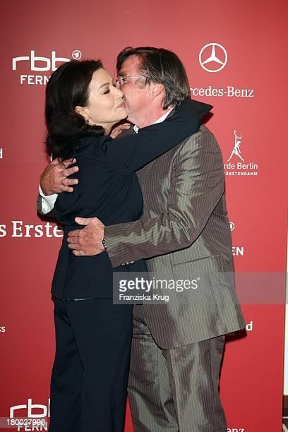 Hannelore Elsner Elmar Wepper Bei Der Nominierungsveranstaltung Zum Deutschen Filmpreis Im Hotel Concorde In Berlin Am 110408