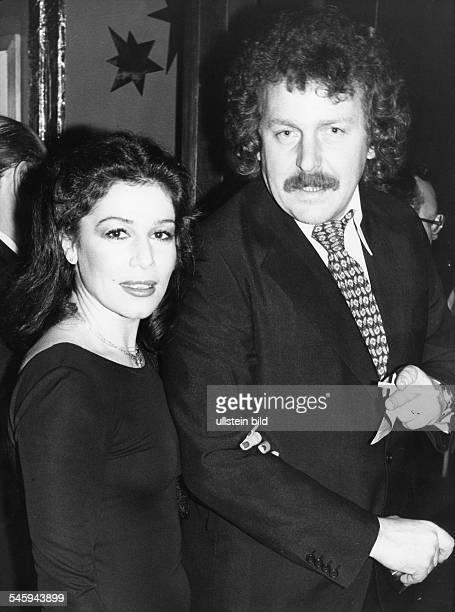 Hannelore Elsner*Schauspielerin Dmir Regisseur Alf Brustellin Januar 1978