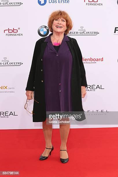 Hannelore Hoger attends the Lola German Film Award 2016 on May 27 2016 in Berlin Germany