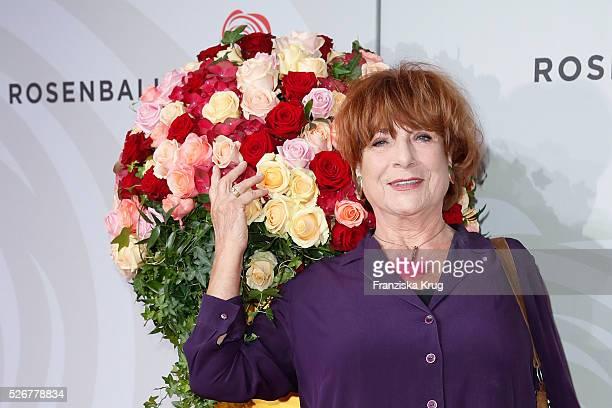 Hannelore Hoger attends the Rosenball 2016 on April 30 in Berlin Germany