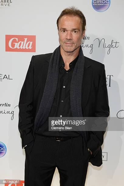 Hannes Jaenicke attends the Berlin Opening Night Of Gala Ufa Fiction during the 64th Berlinale International Film Festival at Hotel Das Stue on...