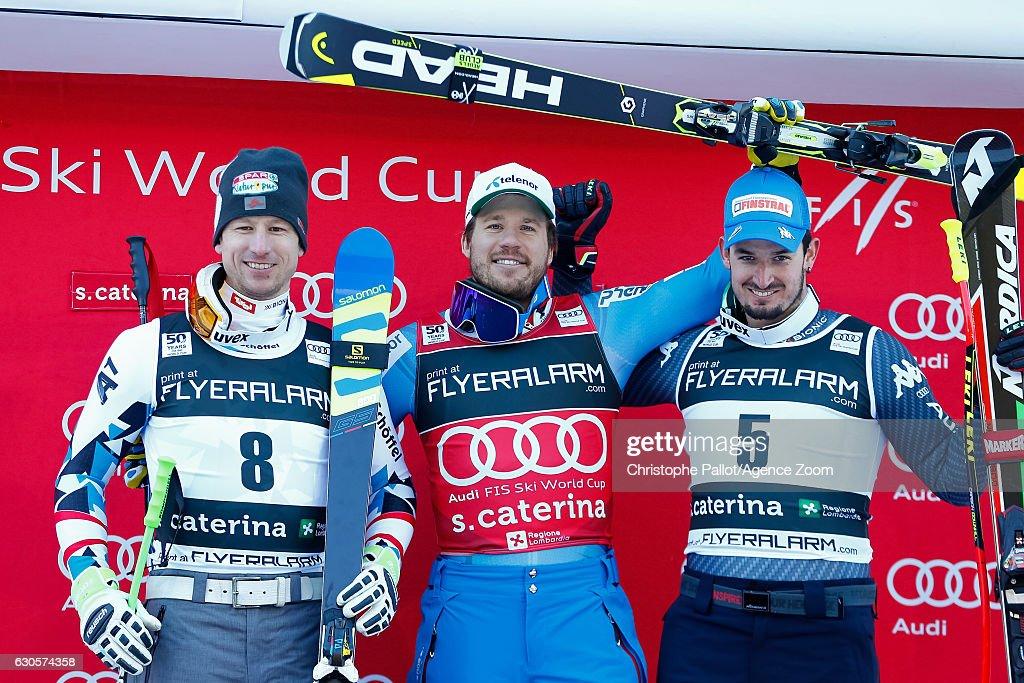 Audi FIS Alpine Ski World Cup - Men's Super Giant