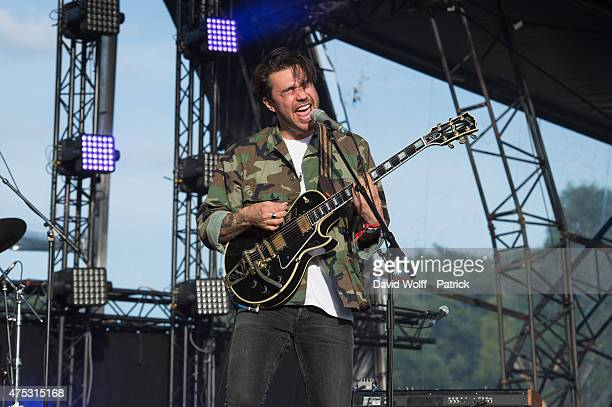 Hanni El Khatib performs at We Love Green Festival on May 30 2015 in Paris France