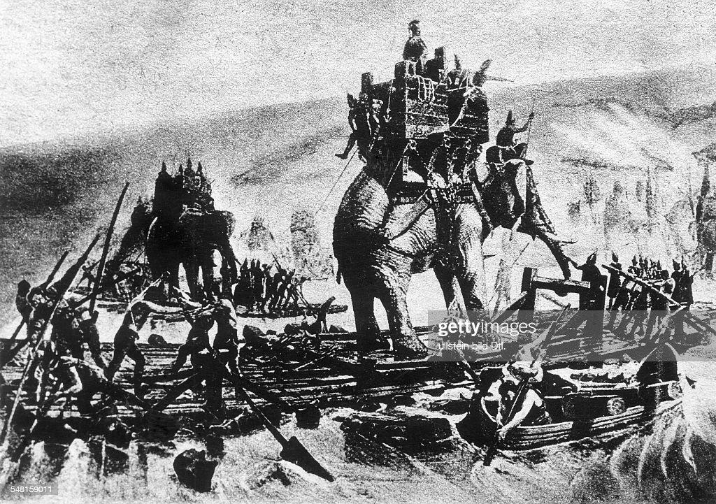 Hannibal Barkas 246 183 V Chr Feldherr Staatsmann Karthago