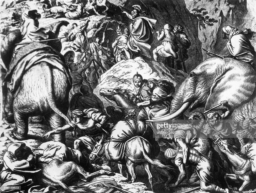 Hannibal Barkas 246 183v Chr Feldherr Staatsmann Karthago Hannibal