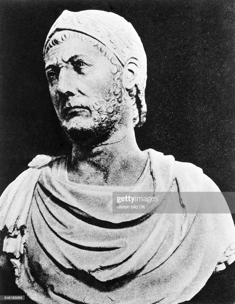 Hannibal Barkas 246 183v Chr Feldherr Staatsmann Karthago Rom