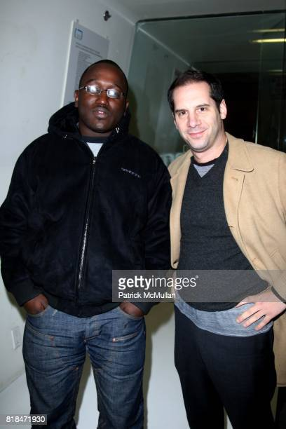 Hannibal Buress and Seth Herzog attend BEYOND FUNDERDOME COMEDY BLOWOUT A Fundraiser Benefiting THE DIARY OF A TEENAGE GIRL at 3LD Art and Technology...