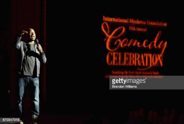 Hannibal Buress at the International Myeloma Foundation 11th Annual Comedy Celebration at The Wilshire Ebell Theatre on November 4 2017 in Los...