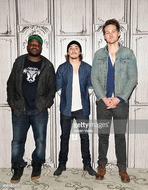 Hannibal Buress Kyle Gallner and Adam Nee visit AOL Build Speaker Series to discuss their upcoming film ÒBand of RobbersÓ at AOL Studios In New York...