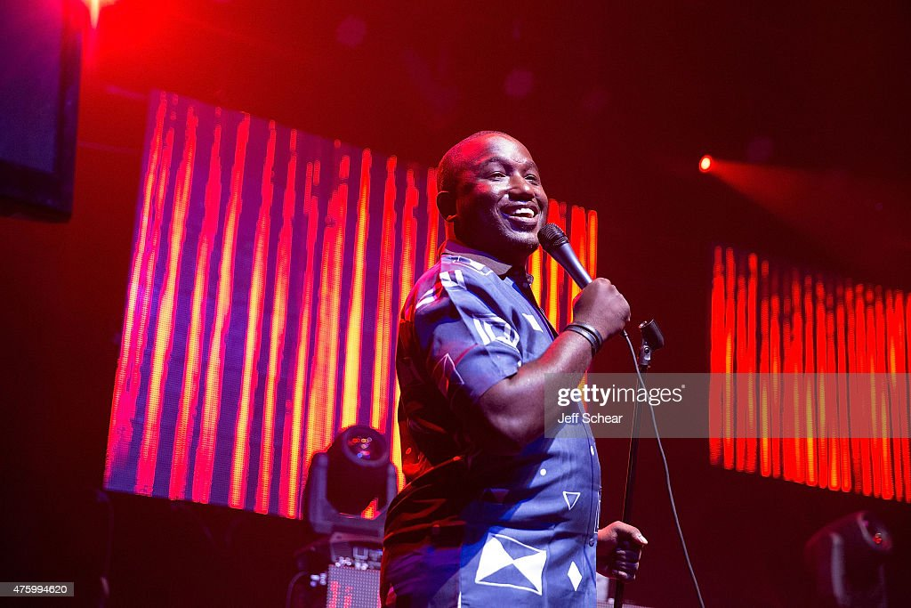 Hannibal Buress performs at Redd's Wicked Apple's 'The Most Wicked Party' event in Chicago, the second in a four-part series, with artist collective group AFROPUNK at Thalia Hall on June 4, 2015.
