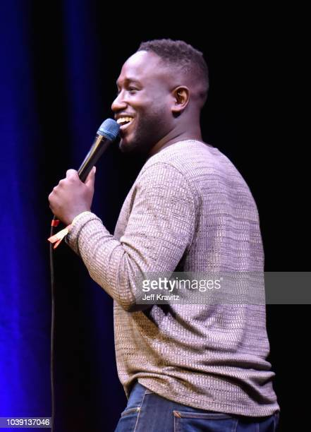 Hannibal Buress performs onstage at The Kicker during the 2018 Life Is Beautiful Festival on September 23 2018 in Las Vegas Nevada