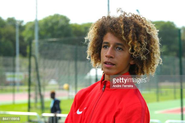 Hannibal Mejbri of As Monaco during Vinci Cup on August 27 2017 in Meudon