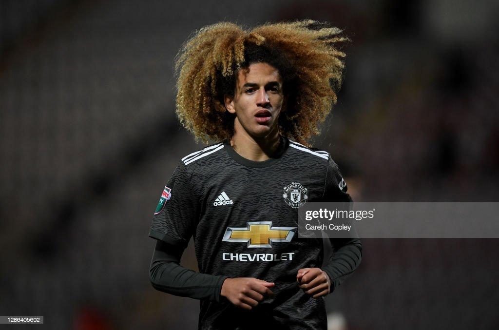 Morecambe v Manchester United U21 - EFL Trophy : ニュース写真