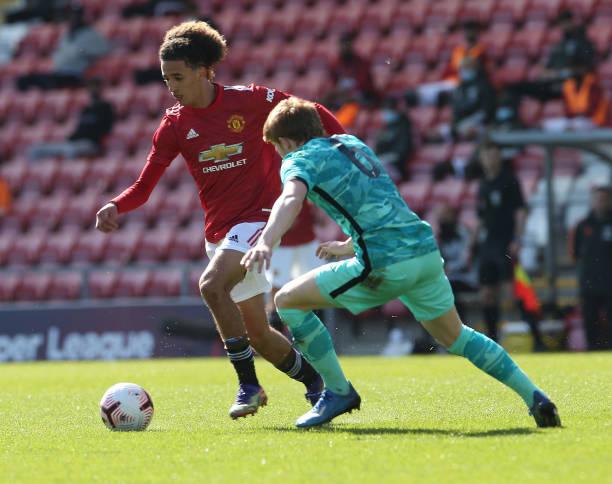 GBR: Manchester United U18 v Liverpool U18: FA Youth Cup