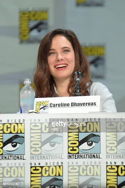 DIEGO 2014 'Hannibal' Panel Pictured Caroline Dhavernas