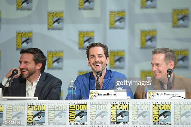 DIEGO 2014 'Hannibal' Panel Pictured Raul Esparza Aaron Abrams Scott Thompson