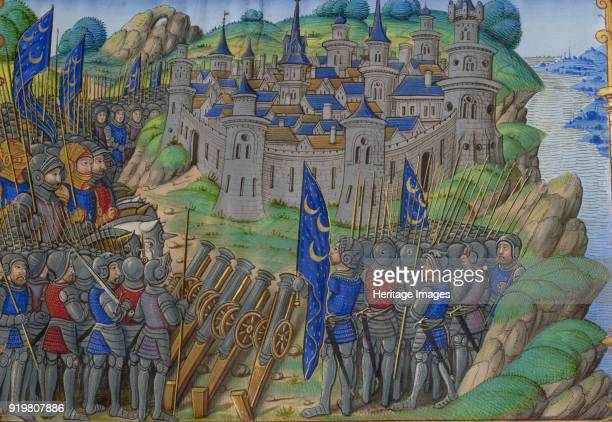 Hannibal's army at the city of Naples Miniature from Vie d'Hannibal by Plutarch 16th century Found in the collection of Bibliothèque Nationale de...