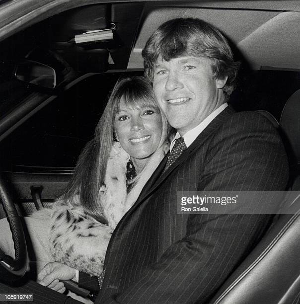 Hannie Strasser and Larry Wilcox during Erik Estrada's Surprise Birthday Party March 7 1981 at Madame Wu's Restaurant in Beverly Hills California...