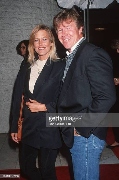 Hannie Strasser and Larry Wilcox during Jack the Bear Los Angeles Premiere at Mann's National Theater in Westwood California United States