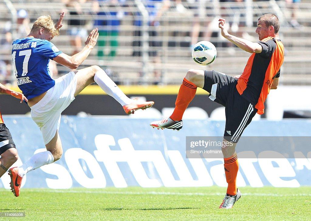 SV Darmstadt 98 v SV Elversberg - 3. Liga : ニュース写真