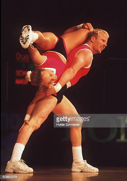WM 1999 Hannover Dana SCHROETER und Carsten RABE/GER 1