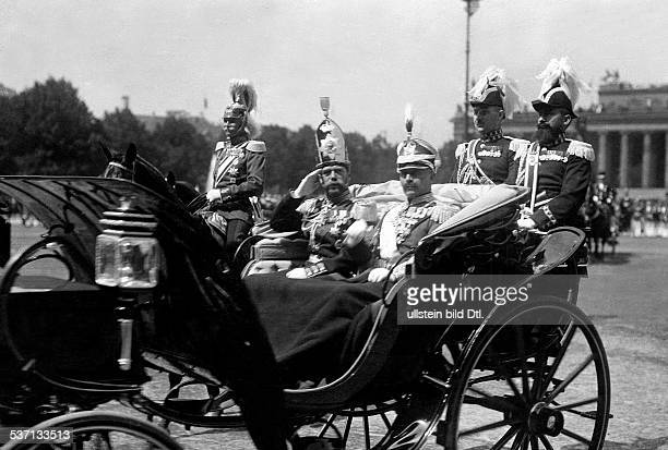 Hannover Ernst August III of Duke of Brunswick Germany Marriage of the prussian Empress' daughter Viktoria Luise of Prussia and Duke Ernst August of...