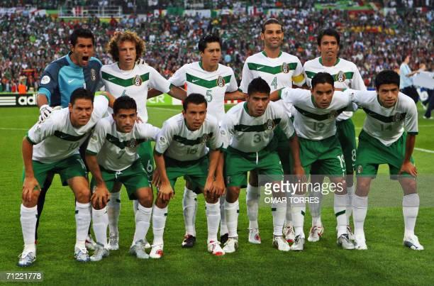 Mexican players Mexican forward Guillermo Franco midfielder Zinha defenders Mario Mendez and Carlos Salcido forward Omar Bravo defender Gonzalo...
