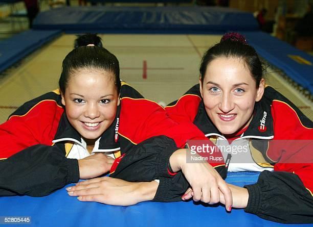 WM 2003 Hannover Jessica SIMON und Anna DOGONADZE/GER