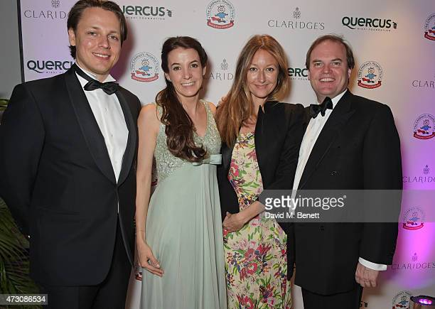Hanns Kendel Princess Tessy of Luxembourg Anna Matthews and Lord Harry Dalmeny attend the Spring Gala In Aid of the Red Cross War Memorial Children's...