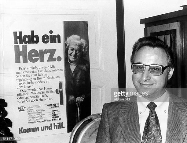 HannsPeter Hertz german journalist and politican Portrait 1977