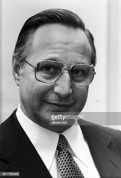 HannsPeter Hertz german journalist and politican Portrait 1979