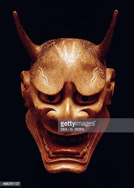 Hannya mask representing a jealous female demon used in Noh Theatre Nagoya Japanese civilization