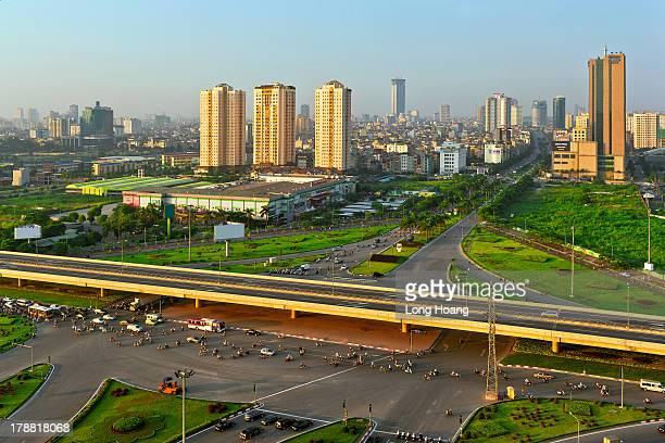 Hanoi city.