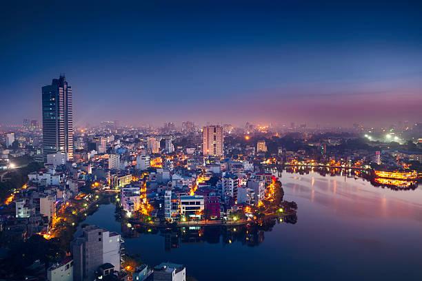 Hanoi Cityscape Wall Art