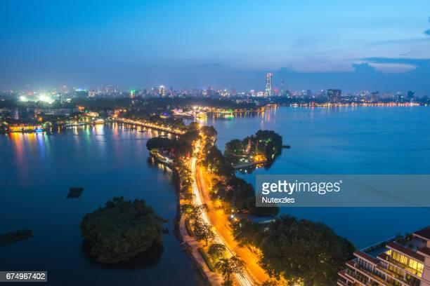 Hanoi cityscape,vitenam