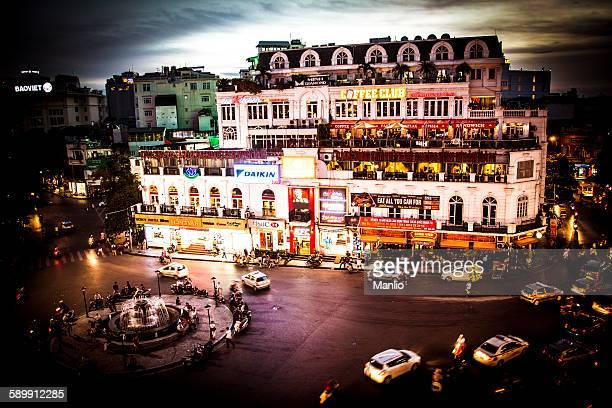 Hanoi in the night