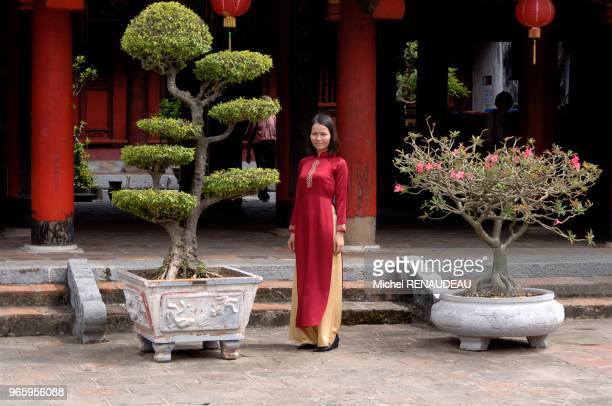 Hanoi Le temple de la littérature Van Mieu fondé en 1070 ce temple est placé sous la protection de Confucius Hanoi Le temple de la littérature Van...