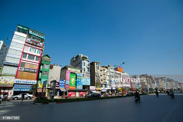 hanoi modern town in sunday - poor service delivery stock pictures, royalty-free photos & images