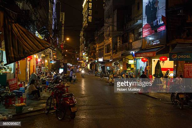 Hanoi Old Quarter at Night