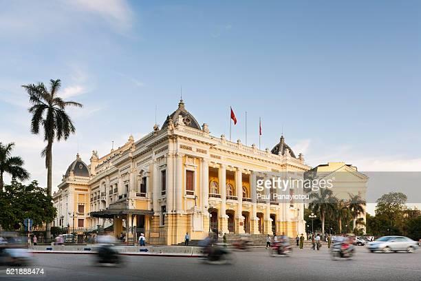 hanoi opera house, hanoi, vietnam - ハノイ ストックフォトと画像