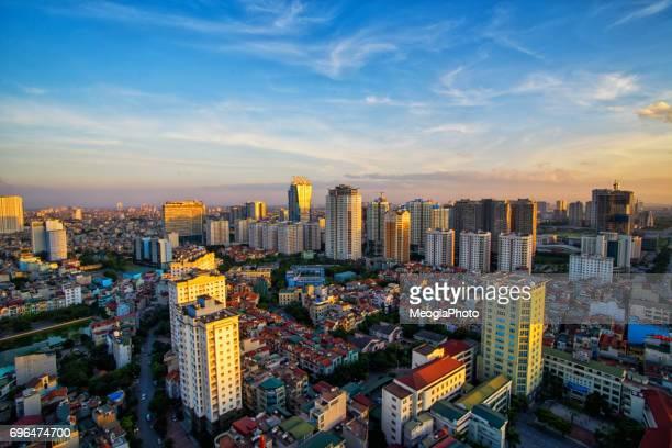 Hanoi skyline cityscape
