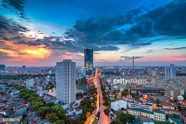 Hanoi's sunset